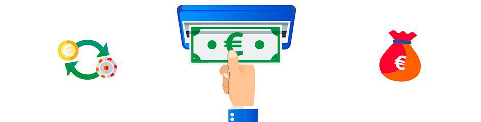 Methods of real money deposits and withdrawals