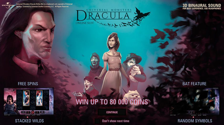 Features of Dracula video slot by NetEnt