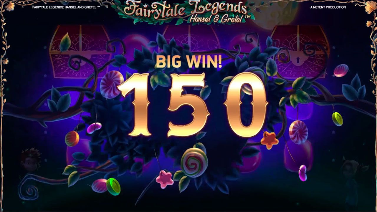 Coin Win feature at Fairytale Legends: Hansel and Gretel slot
