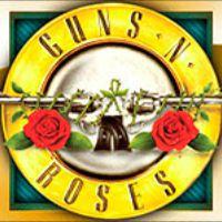 Wild symbol at Guns N' Roses video slot