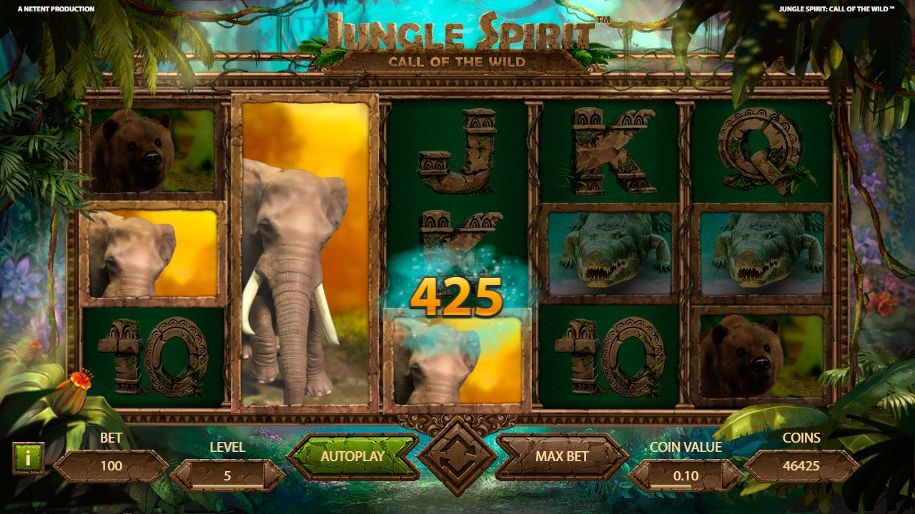 Butterfly Boost feature at Jungle Spirit: Call of the Wild slot machine