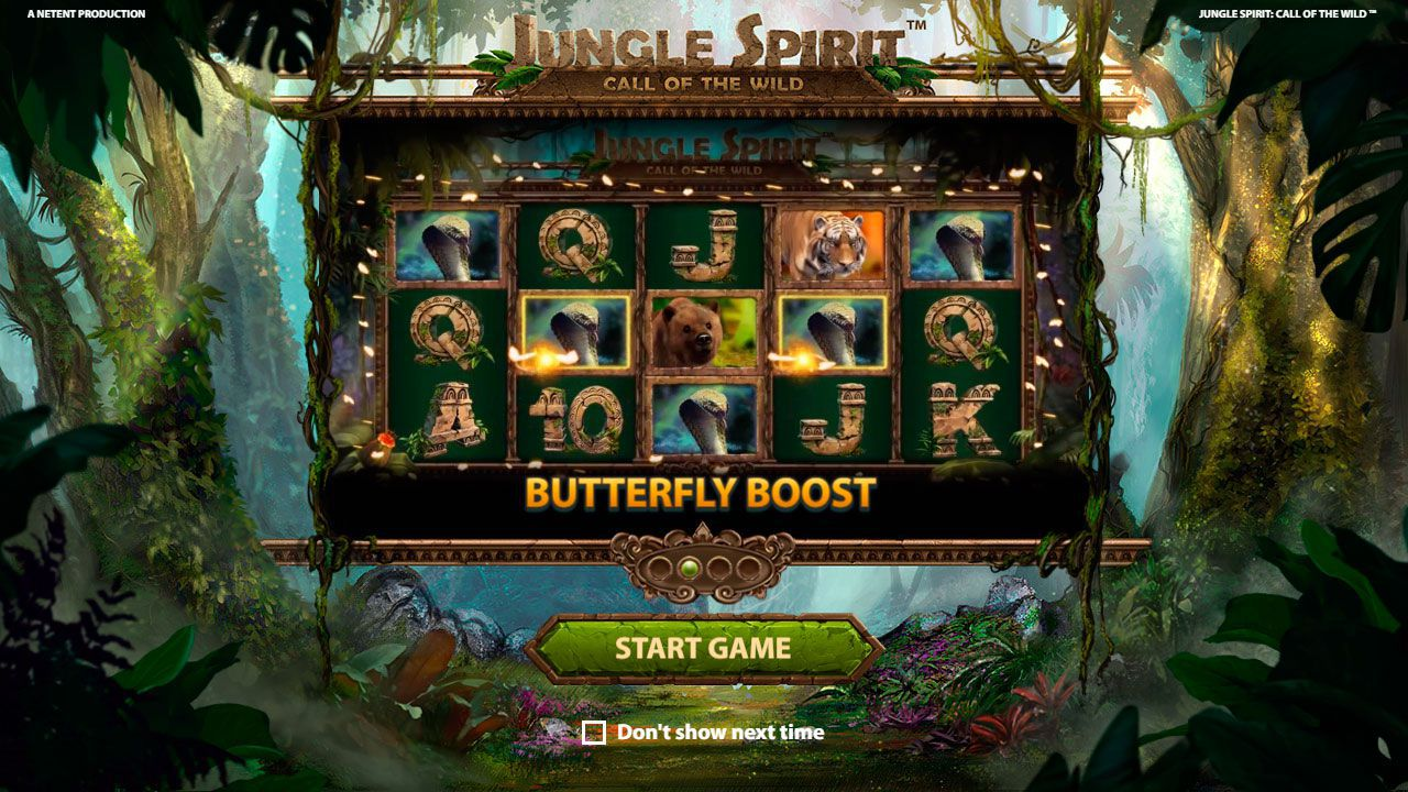The main features of Jungle Spirit: Call of the Wild slot machine by NetEnt