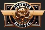 Scatter symbol at Motörhead video slot