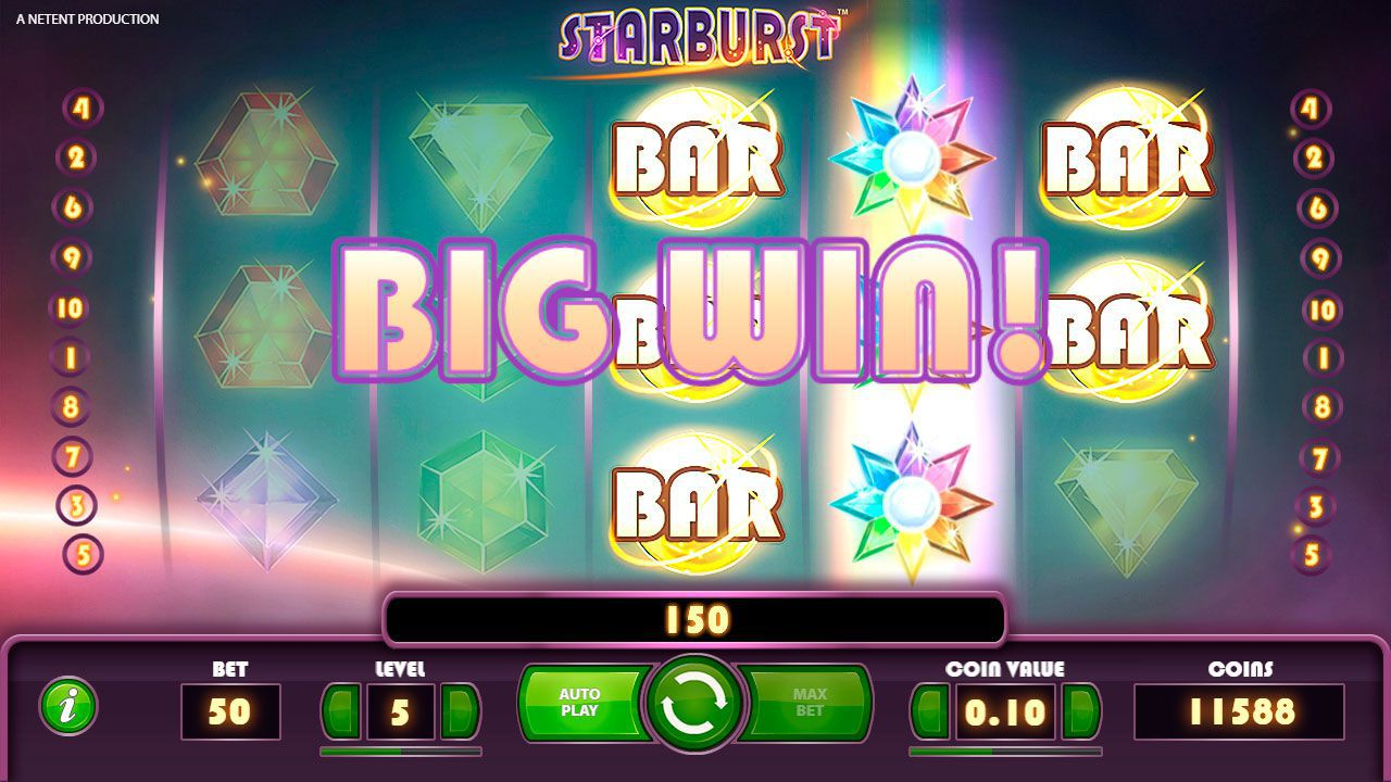 Wild Re-Spin feature at Starburst slot machine