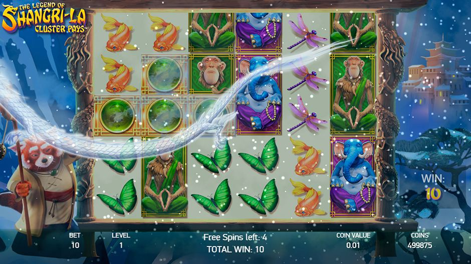 Dragon in Free Spins round