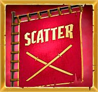 Scatter: red banner