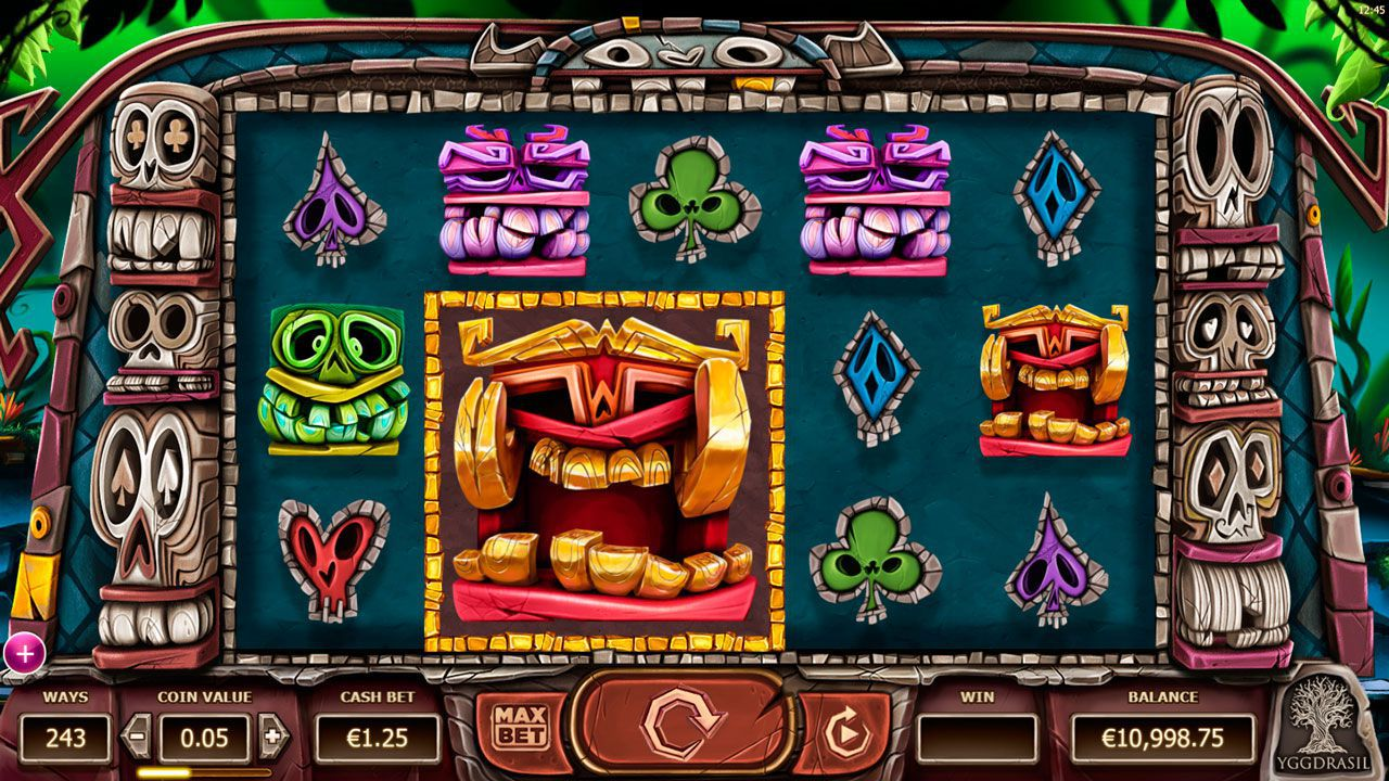 Design of Big Blox slot machine