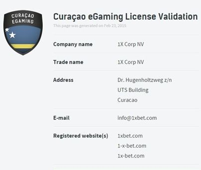 Casino integrity proof check on license