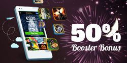 50% Booster Bonus special offer at GoWild Casino