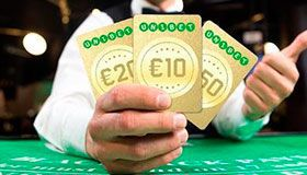 Unibet Casino Gold Cards promotion