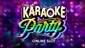Karaoke Party - a new slot by Microgaming