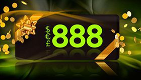 €888 in no deposit bonuses by 888 Casino every month