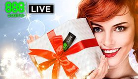 Live Casino bonus up to €6.000 to celebrate 888 Casino birthday