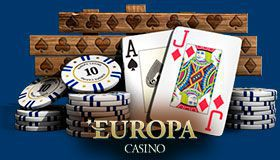 Europa Casino VIP club: climb the ladder of VIP program