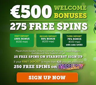 Casino Luck How To Claim 25 Free Spins No Deposit Bonus