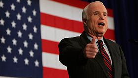 John McCain supported online casinos legalization