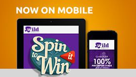 Spin it to Win Mobile: free spins on Mondays at Wild Jackpots Casino
