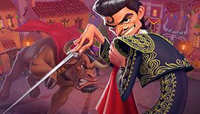 Toro goes loco in the new game from ELK Studios at JoyCasino