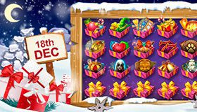 Christmas Calendar of promotions at online casinos: offers for December 18th