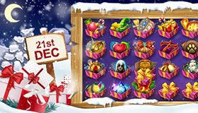 Christmas Calendar of promotions at online casinos: offers for December 21st