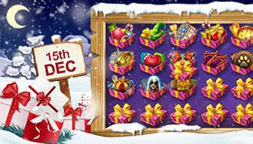 Christmas Calendar of promotions at online casinos: offers for December 15th