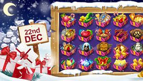 Christmas Calendar of promotions at online casinos: offers for 22nd December