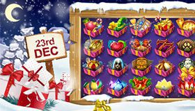 Christmas Calendar of promotions at online casinos: offers for 23rd December