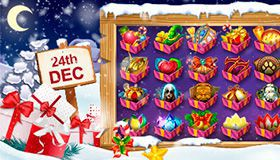 Christmas Calendar of promotions at online casinos: offers for 24th December