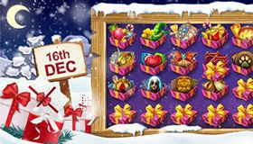 Christmas Calendar of promotions at online casinos: offers for December 16th