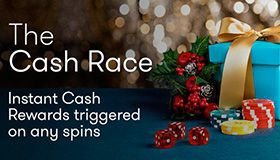 InterCasino - Christmas cash races plus your bonus