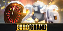 The very first bonus in the new year from EuroGrand casino