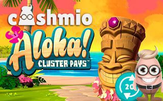 Cashmio Casino 20 free spins no deposit required
