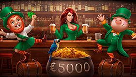 St. Patrick's lottery at JoyCasino