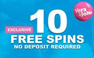 Vera John No Deposit Bonus