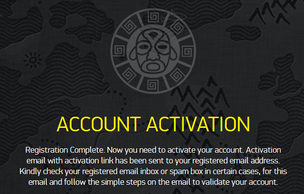 Bonanza Game Casino account activation