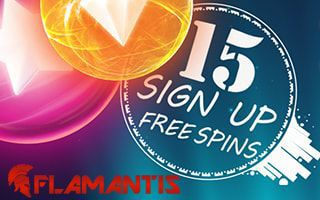 Flamantis Casino 15 free spins no deposit required