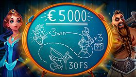 The March Mission with €5000 prizepool at JoyCasino