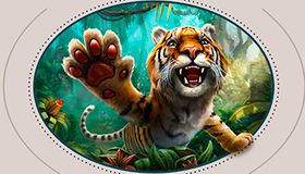Let out a roar with a gift in the new NetEnt game