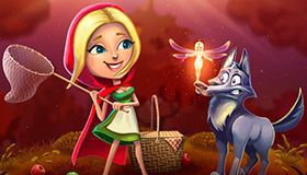 Tame free spins in Red Riding Hood