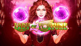 Deposit bonus of 40% and 15 free spins on Lady of Fortune video slot