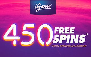 iGame Casino 450 free spins no deposit required