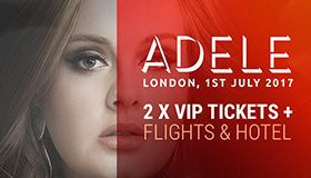 Adele concert tickets giveaway at BitStarz Casino