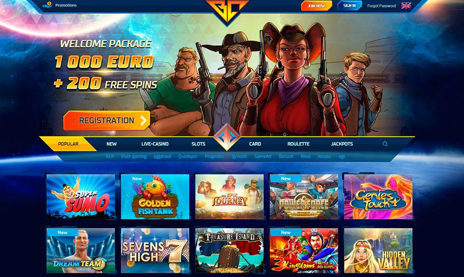Buran Casino official web site for real money