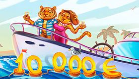 Jungle Fever lottery with €2000 main prize
