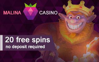 malina casino 20 free spins