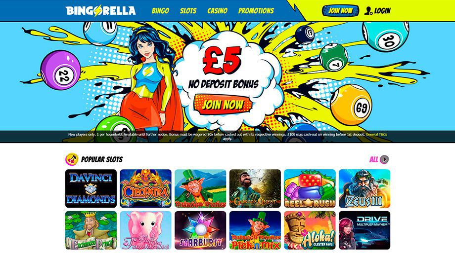 Bingorella official web site for real money play