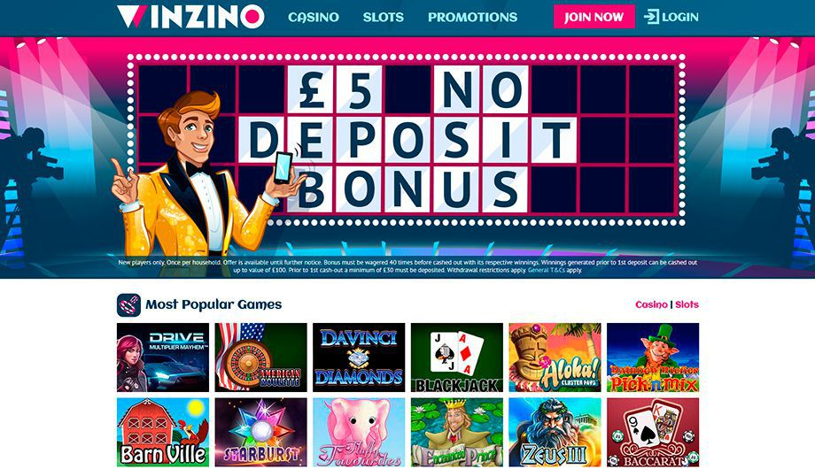 Winzino Casino official web site