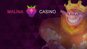 Malina Casino - promo code upon sign up