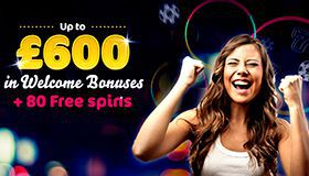 Welcome bonus package for new players at Wink Slots Casino