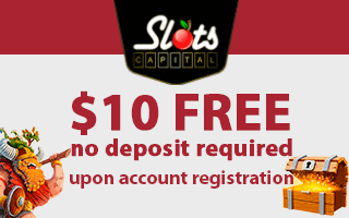 No deposit bonus at Slots Capital Casino